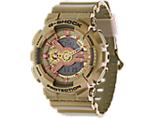 Casio G-Shock G-110 S Series户外功能手表 gma-s110gd-4a2cr