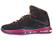 Nike LeBron X (Denim) 男子篮球鞋 597806-400