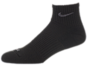 Nike Women's Cushioned Quarter Socks (3 Pairs) 女子运动袜 sx4733-001