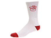 SNEAKERHEAD Head Logo Quality Crew Socks 男子运动袜 sx8102-160