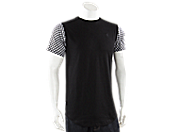 SELECT Check T-Shirt 男子运动T恤 sh1503007-blk