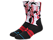 Stance NBA All-Star West Socks 男子运动袜 m9944alw-red