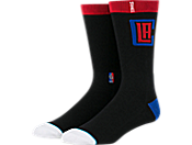 Stance Clippers Arena Logo Socks运动袜 m558d5clip-blk
