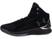 Under Armour Curry 1 Lux Mid Suede 男子板鞋/休闲鞋 1296617-001