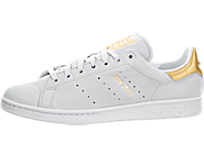 Adidas Stan Smith (Gold Leaf) 男子板鞋/休闲鞋 s80506